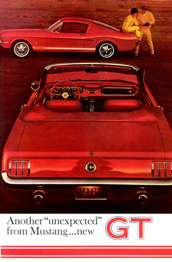 Mustang Ad on Ford Mustang Boss 302